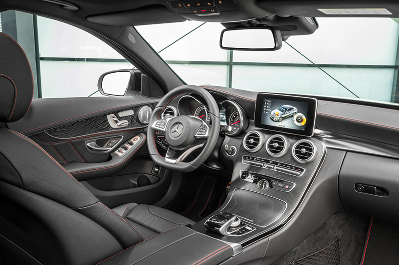 2015-Mercedes-Benz-C450-AMG-interior