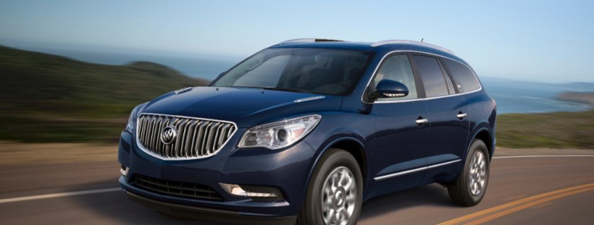 2015 buick enclave driven today