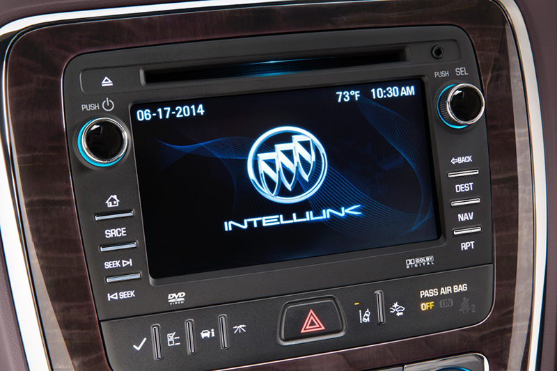 2015-Buick-Enclave-display