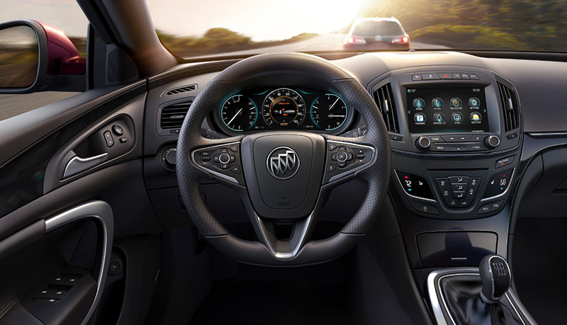 2015-Buick-Regal-GS-interior