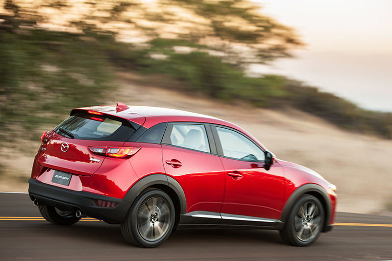 2016-Mazda-CX-3-rear-profile