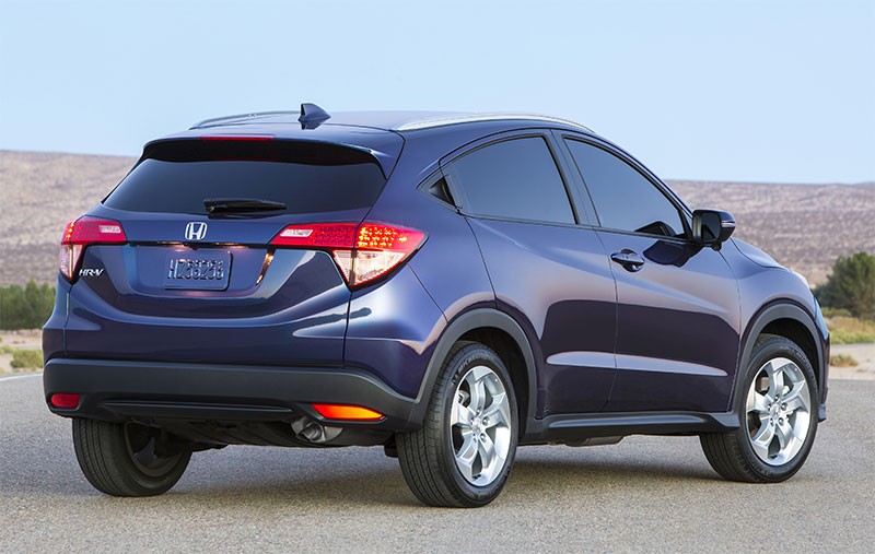 2016-Honda-HR-V-rear