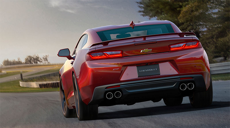 2016-Chevrolet-Camaro-rear