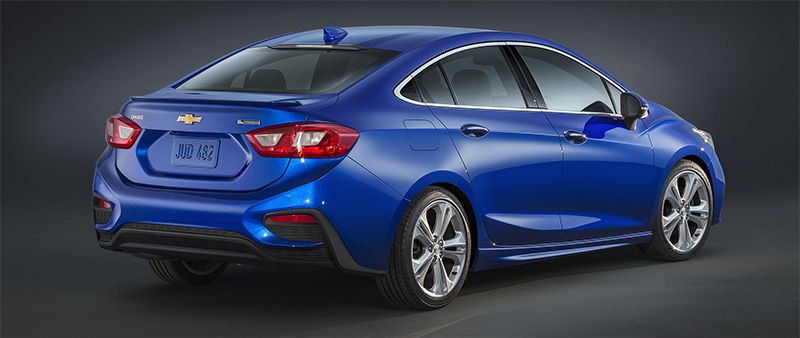 2016 Chevy Cruze-rear profile