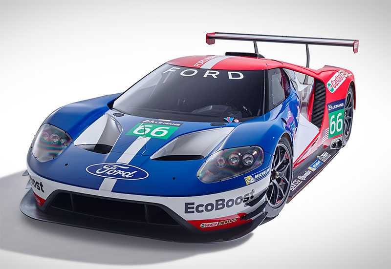 ford gt returns to le mans in 2016 driven today. Black Bedroom Furniture Sets. Home Design Ideas