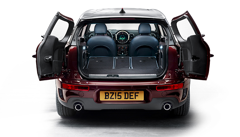 2016 Mini Clubman-rear