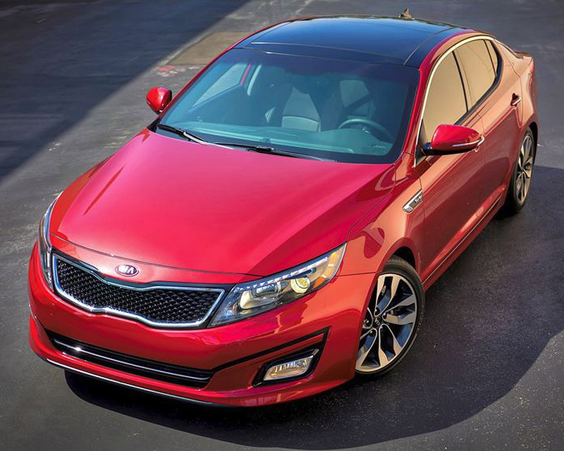 2016 Kia Optima, DrivenToday.com