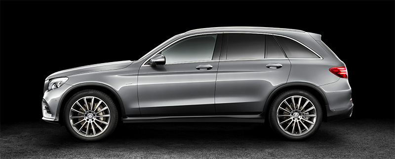 2016 Mercedes-BenZ GLC-profile
