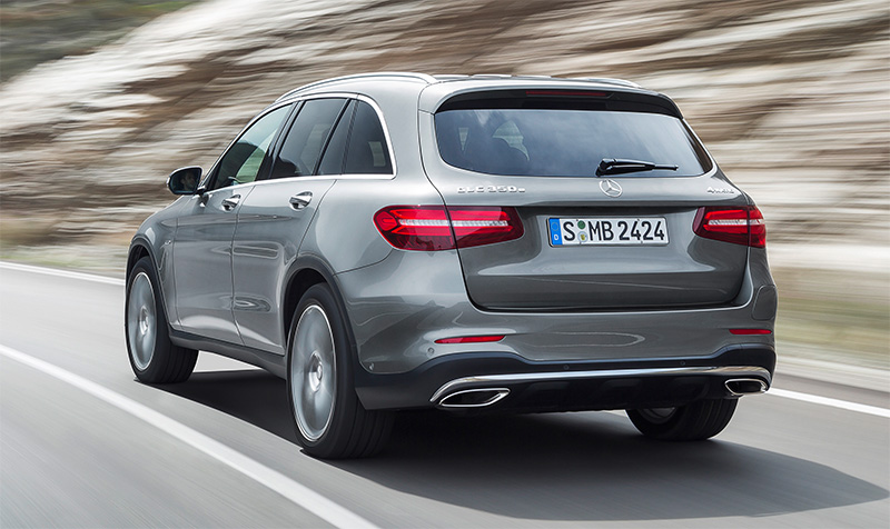 2016 Mercedes-BenZ GLC-rear