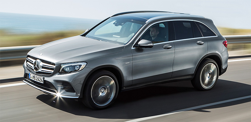 2016 Mercedes-BenZ GLC-side