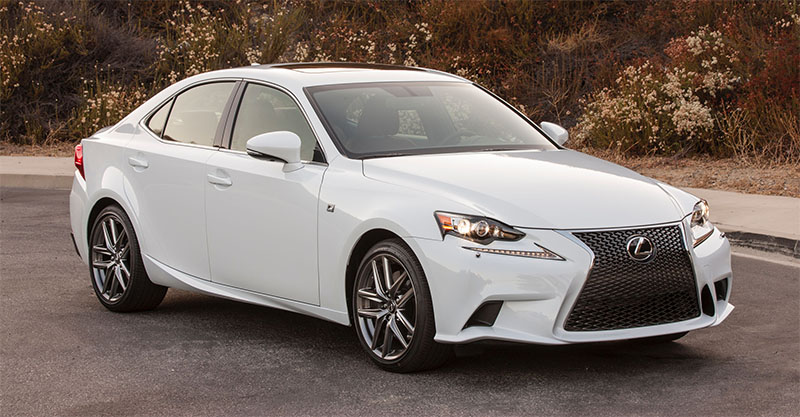2016 LEXUS IS Sport-white