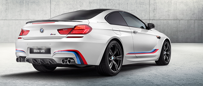 2016 BMW M6 Coupe Competition-rear