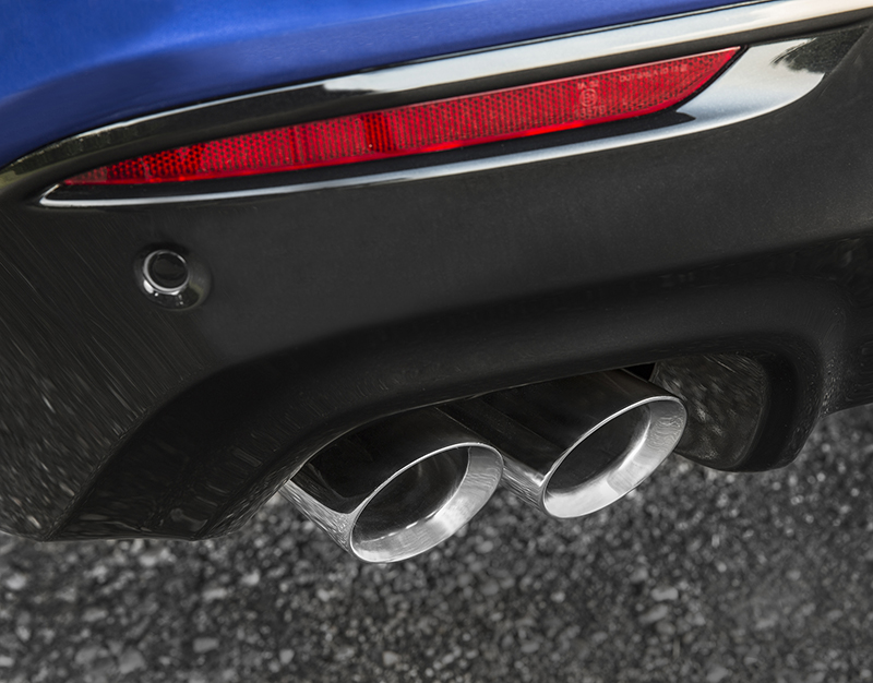 A new, dual-mode exhaust system for the 2016 Chevrolet SS sedan complements the V-8 engine with quieter performance at low engine speeds and a more muscular engine note at wide-open throttle.