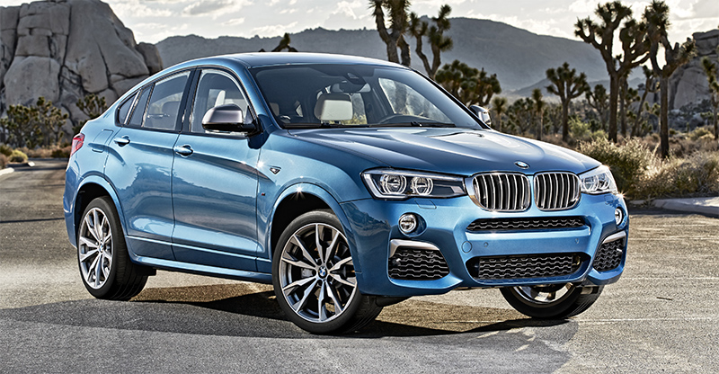 2016 BMW X4 M40i-front profile