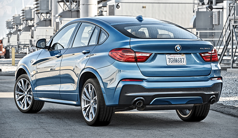 2016 BMW X4 M40i-rear side