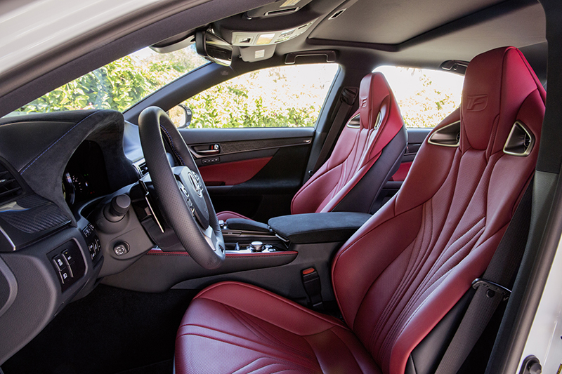 2016 Lexus GS F-interior-side