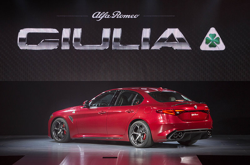 All-new 2017 Alfa Romeo Giulia Quadrifoglio, DrivenToday.com