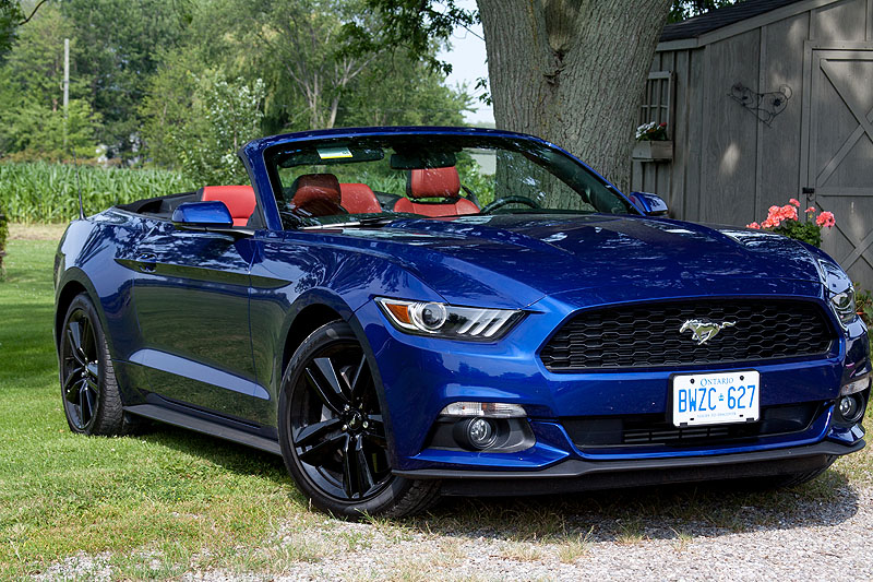2015 Ford Mustang Convertible Review Driven Today