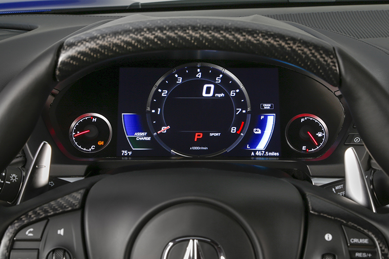 2017 Acura NSX - Sport Mode.