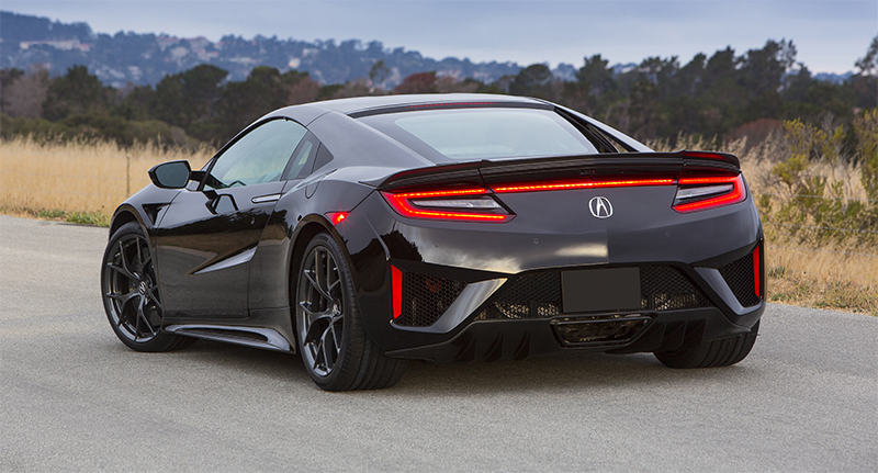 2017 Acura NSX-rear