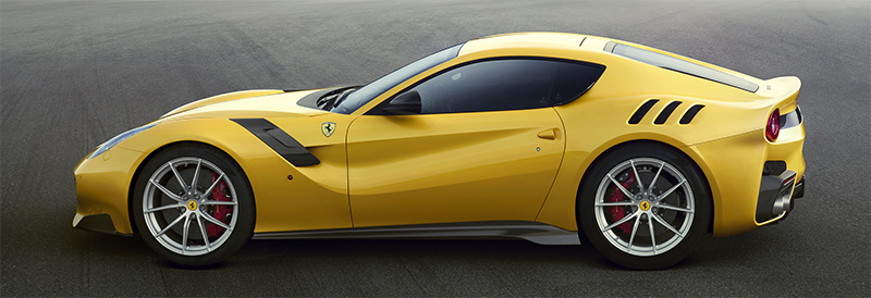 Ferrari F12TDF-side
